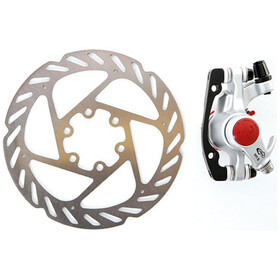 Avid BB5 Road Brake Caliper Rear Wheel 140mm, platinum